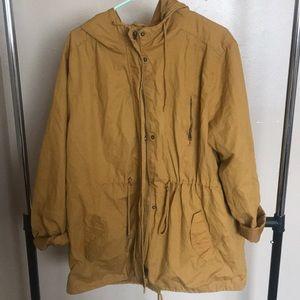 Jackets & Blazers - cute mustard yellow jacket